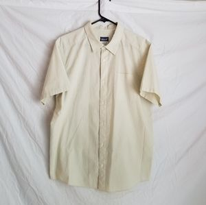 Patagonia organic cotton button up shirt L
